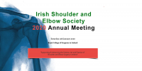 Irish shoulder and Elbow Society annual meeting 2020